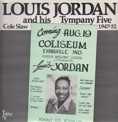 Louis Jordan 廣告傳單