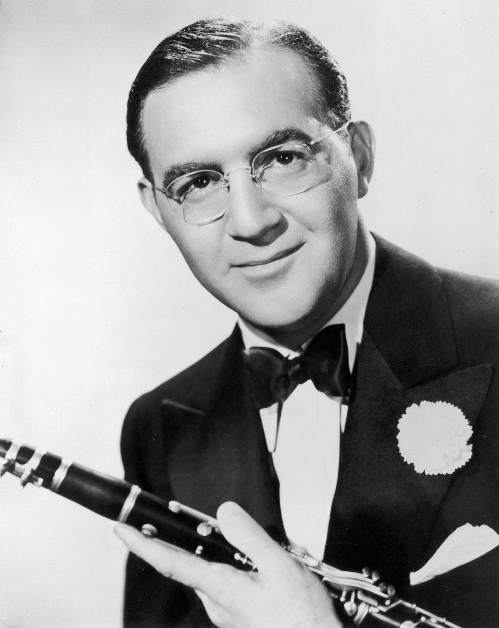 年輕時的 Benny Goodman(好清純)