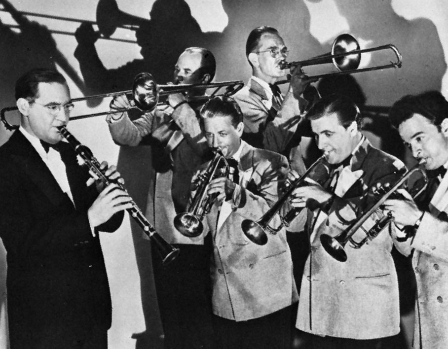 Benny Goodman 與樂團成員
