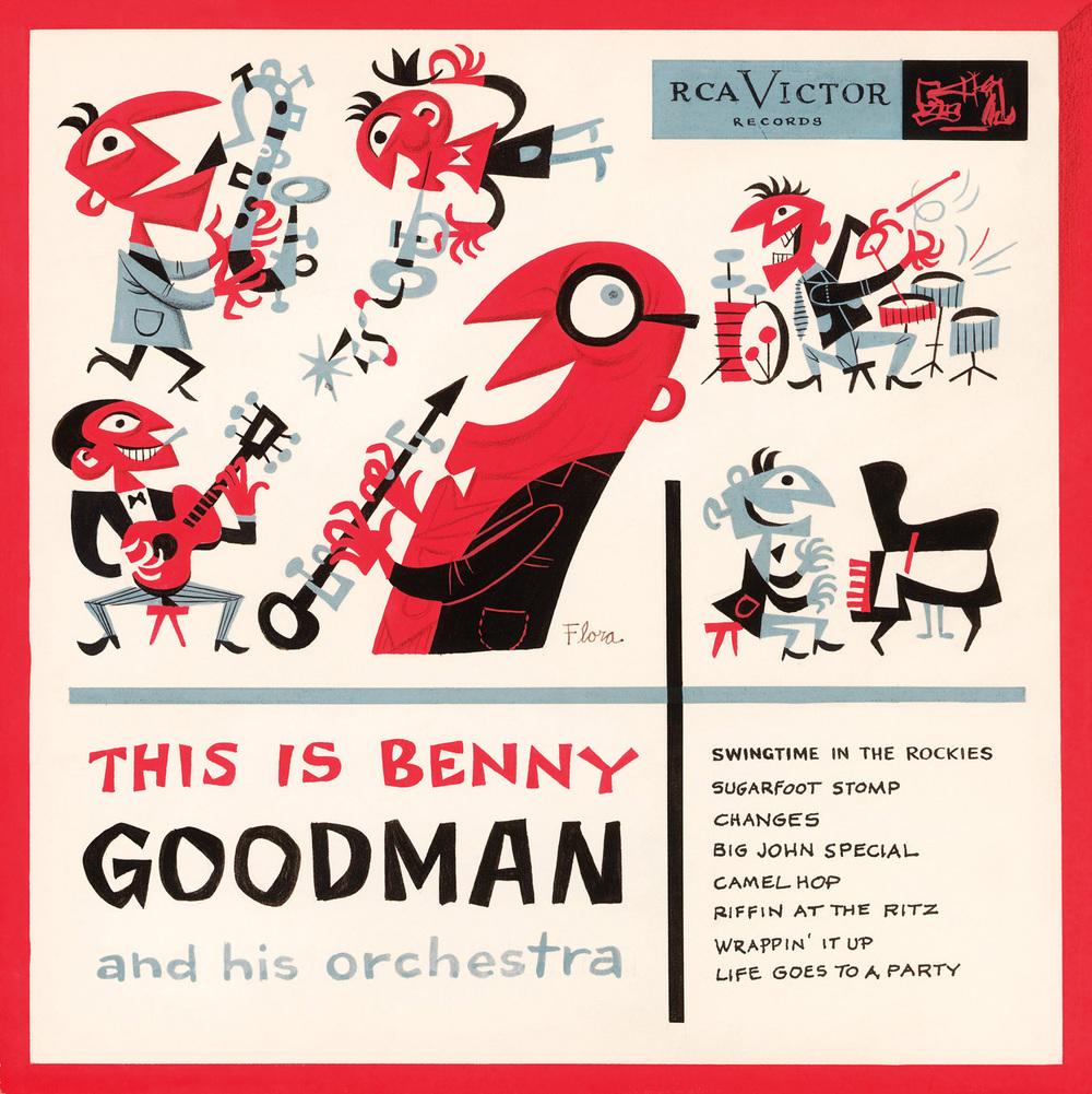 Benny Goodman 1950 年代的專輯封面
