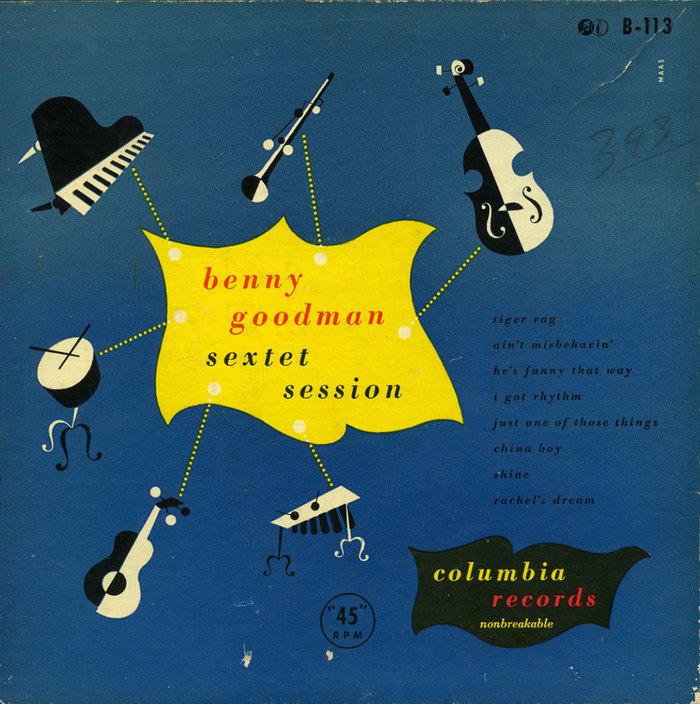 Benny Goodman 1940 年代的專輯封面
