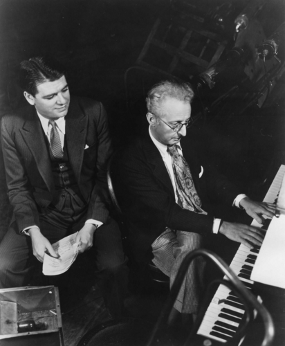 著名作曲/填詞家 Hammerstein(左)與 Jerome Kern(右)( via   Rodger & Hammerstein )