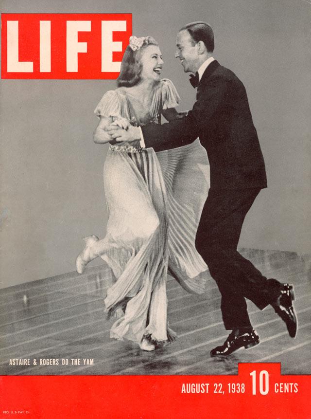 Fred& Ginger 出現在 1938 年 LIFE 雜誌封面( via   ABC News )