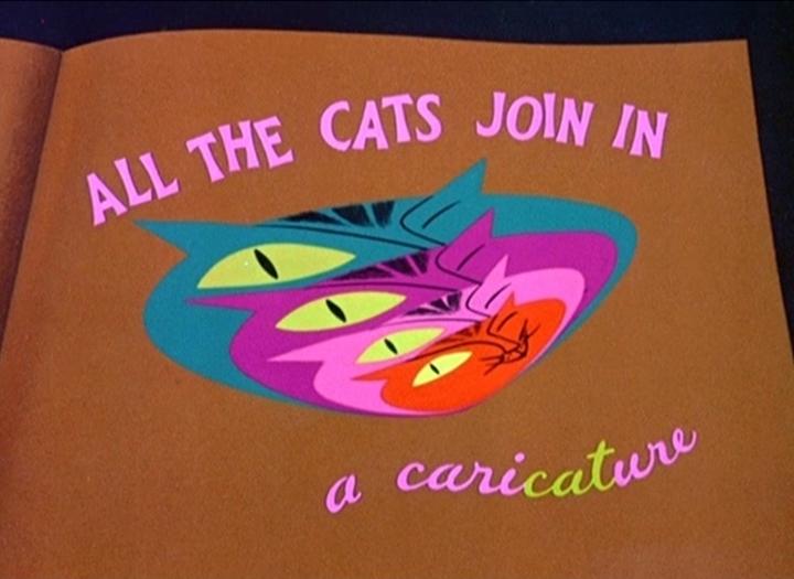含有 Lindy Hop 片段的迪士尼動畫短片《All the Cats Join In(所有貓兒都加入) 》(via Disney Wiki)