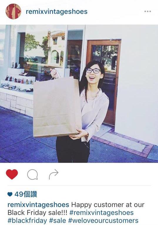 Lotus 買鞋子買到上Instagram