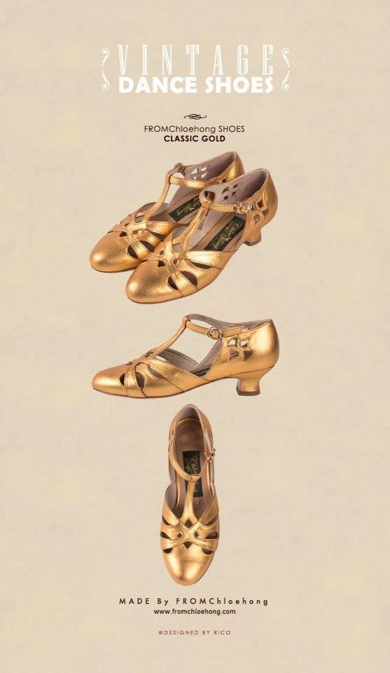 韓國 Chloe Hong 的舞鞋(via Chloe Hong)