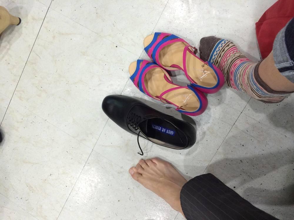 Angela 的 LBH 舞鞋