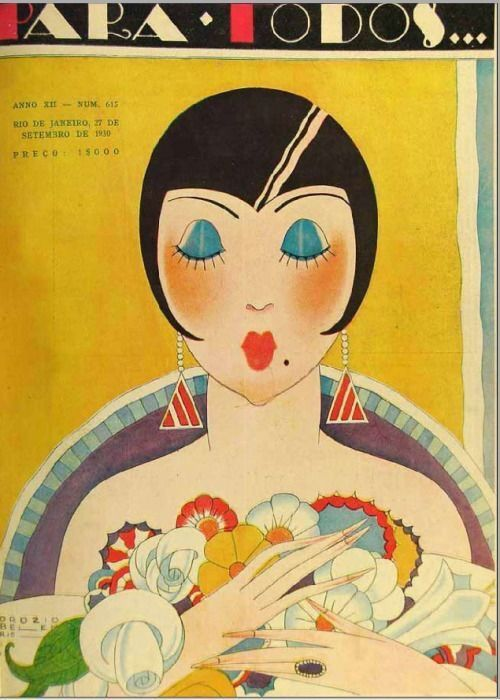 1930 年代雜誌封面( via :  Jazz Age & Thereabouts )