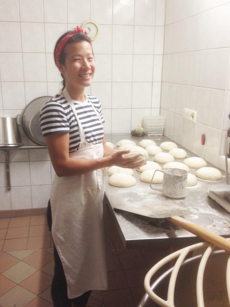 幫忙烤麵包