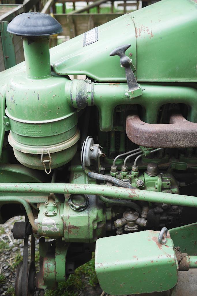 老拖拉機的機械