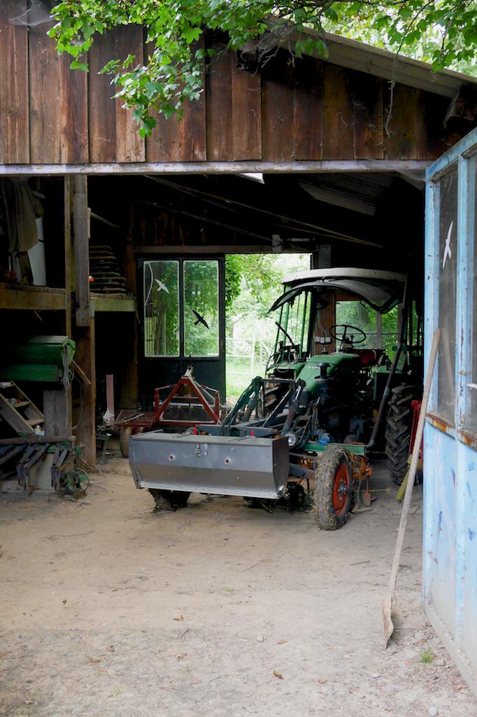 拖拉機外觀