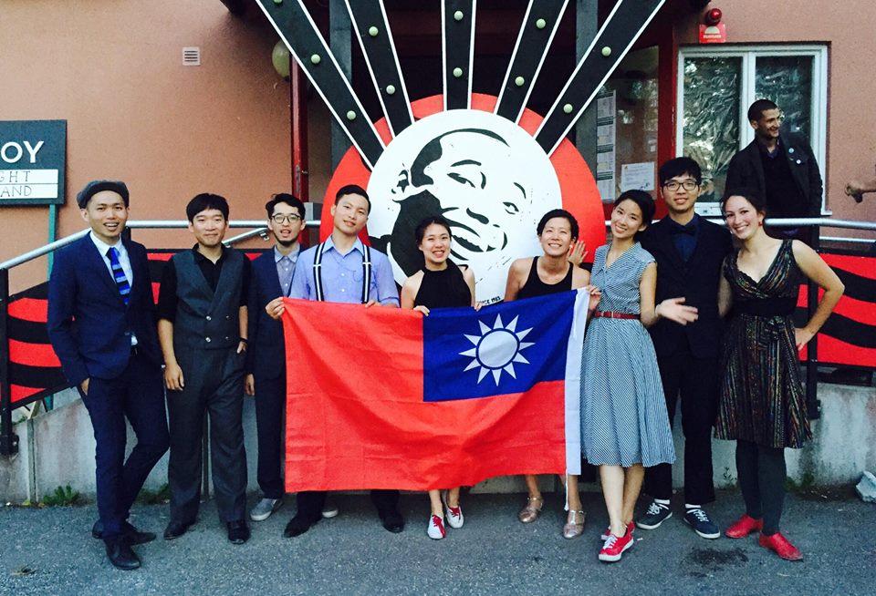 2016 年在 Herräng 的台灣舞者們(少了一個 Ynez XD)