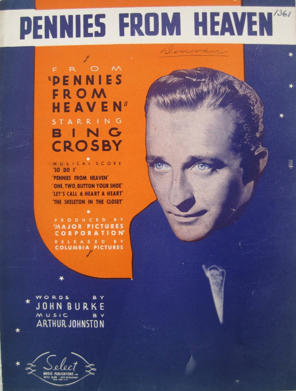 Bing Crosby 樂譜封面(via Songbook)