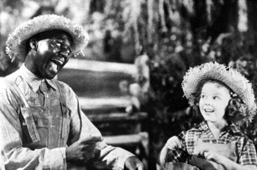 "Bill ""Bojangles"" Robinson 與 Shirley Temple( via : Wikipedia )"