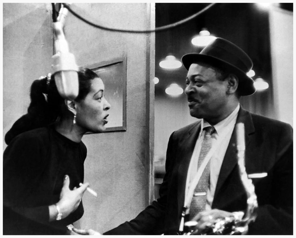 Billie Holiday 與 Count Basie(via: The Jazz Labels)