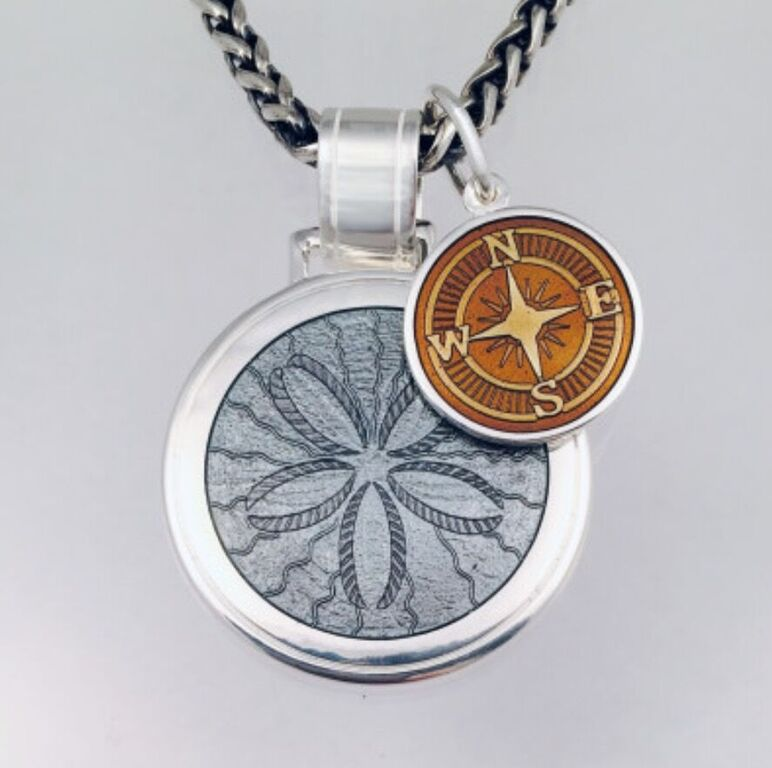Sand Dollar & Compass Rose.jpg