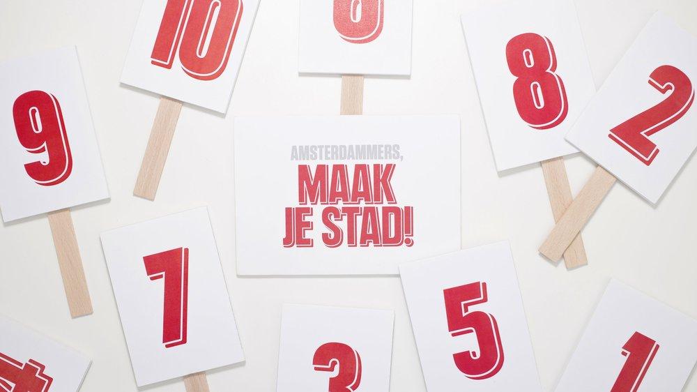 Amsterdammers, Maak je Stad! - Innovative video content voor een vernieuwend subsidie traject op sociale innovatie binnen de metropool regio Amsterdam.