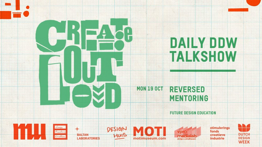 Create Out Loud: Peek & Poke Project Description : In preparation for her Dutch Design Week talk show Create Out Loud, Dutch TV personality Isolde Hallensleben sought me out to create content and provide strategic advice. This document describes her plan to unite students from the Design Academy Eindhoven and the Technical University Eindhoven in a collaborative live event specific to Dutch Design Week. The event is supported by both academic institutions, along with MU in Eindhoven. This is an ongoing project and will likely take place during DDW 2017.