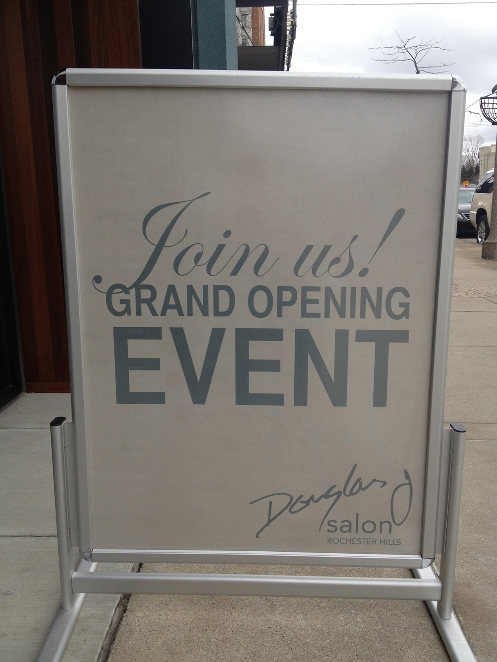 Douglas J  is a growing company based in East Lansing, MI. Their last location to open operates in Rochester Hills. The 2013 Grand Opening Event was enjoyed by many guests, with food, live music, a ribbon cutting and complimentary services.