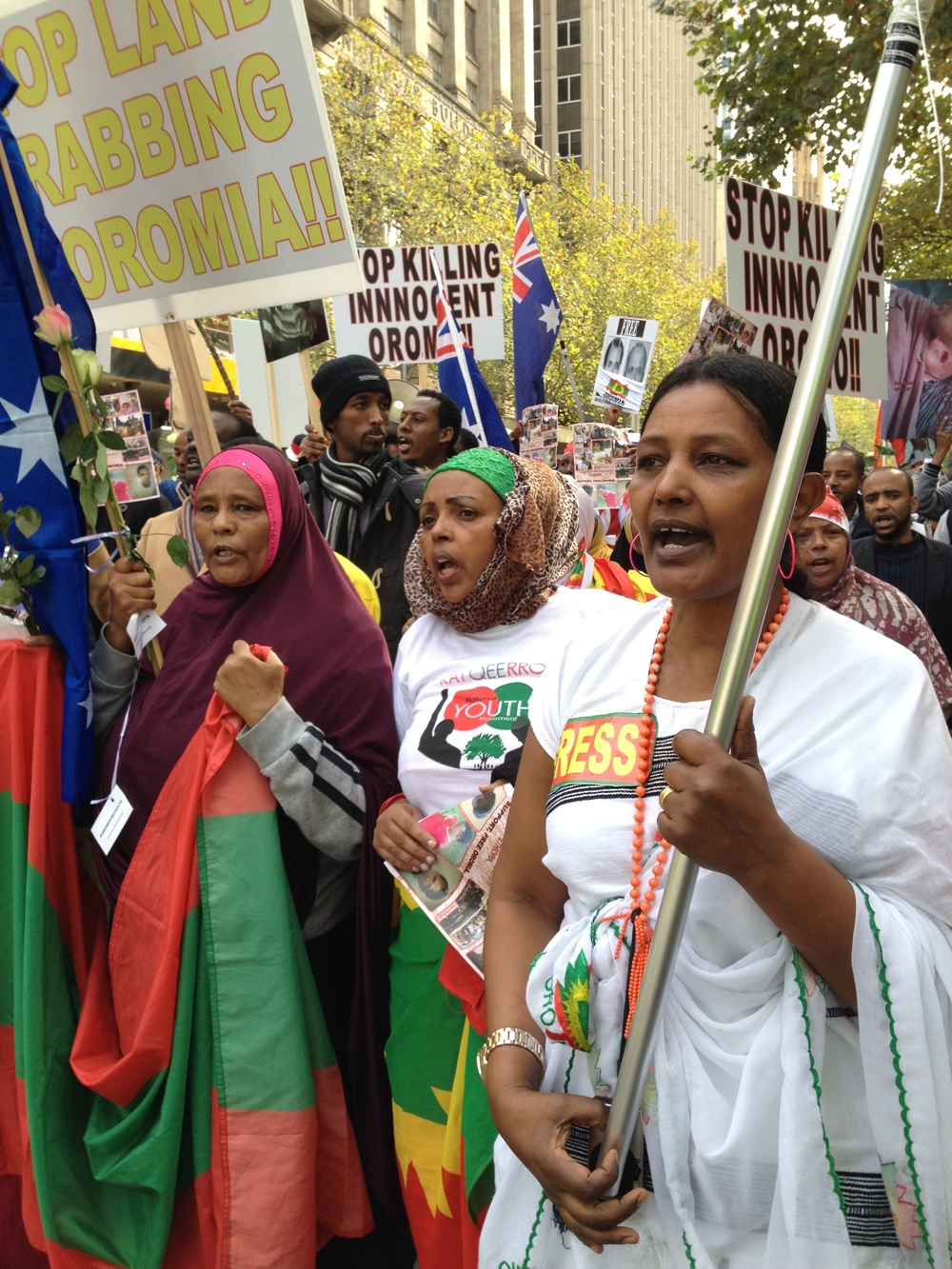 Oromo Protest Melbourne.JPG