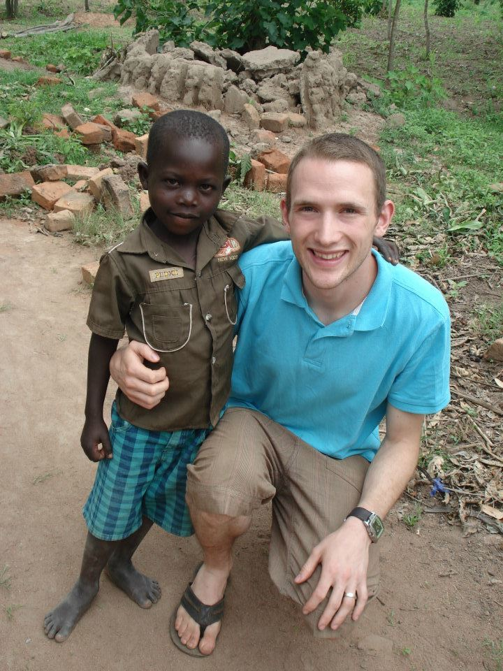 chris boddy in Uganda in 2012