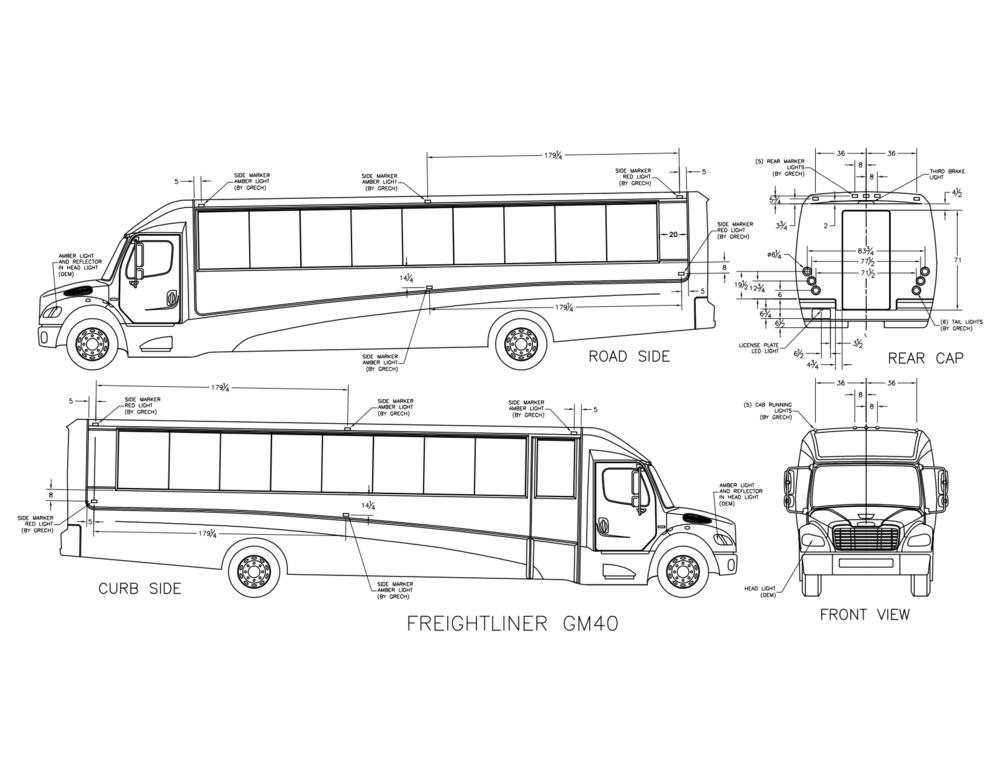 Freightliner GM40