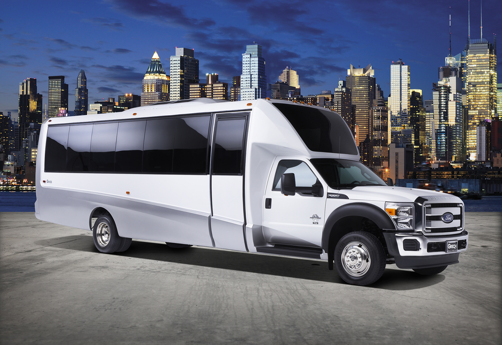 Grech Motors GM33 F550 luxury shuttle bus