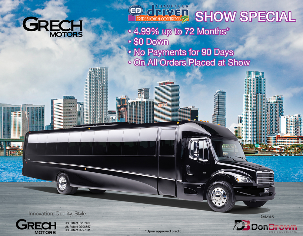 Grech Motors GM40 Chauffeur Driven Show Special Miami 2015