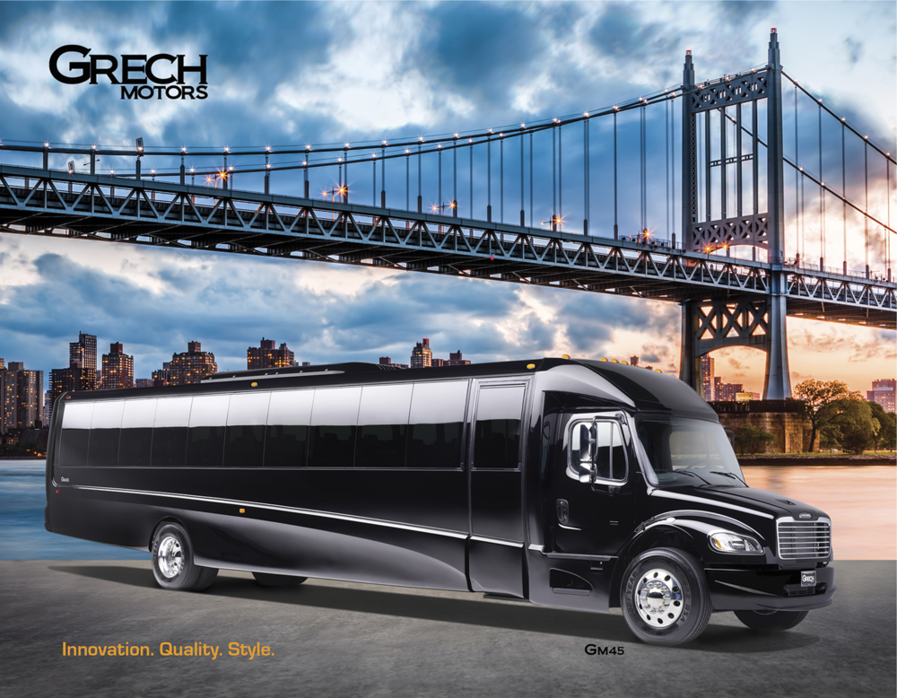 Grech Motors luxury bus brochure