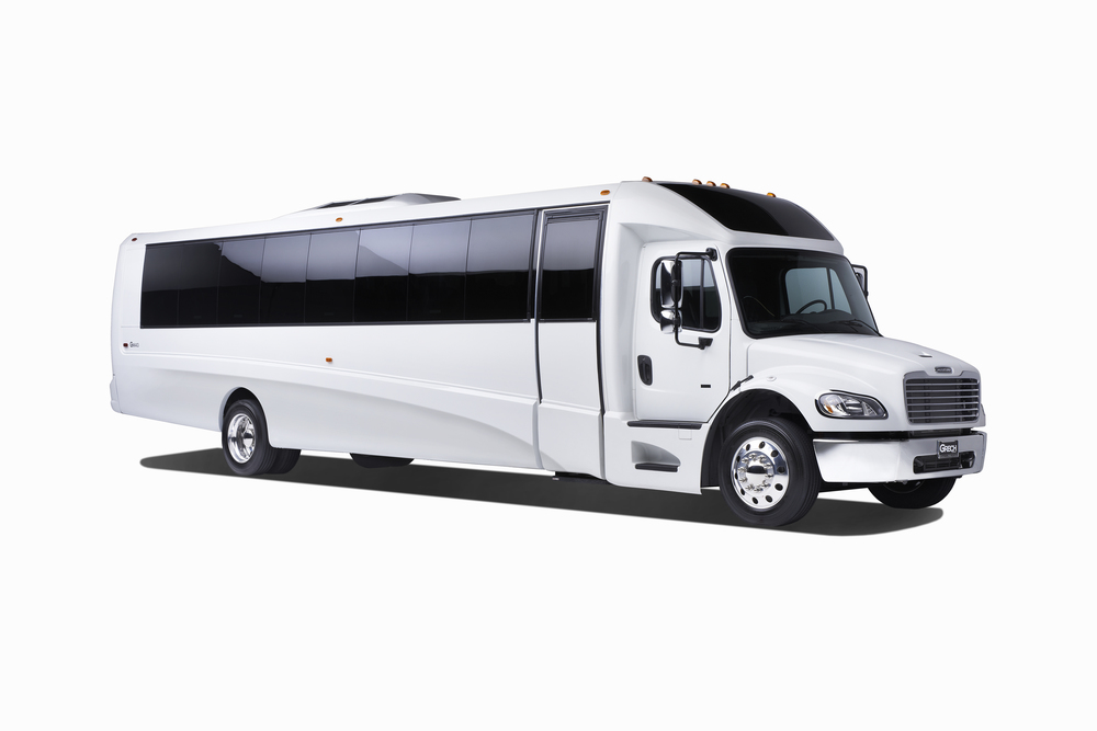 Grech Motors GM40 Freightliner luxury bus white