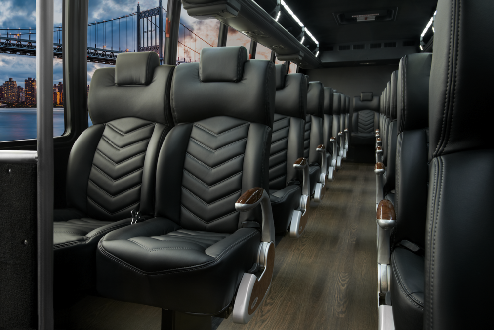 Grech Motors luxury bus interior with Grech Elite Seats