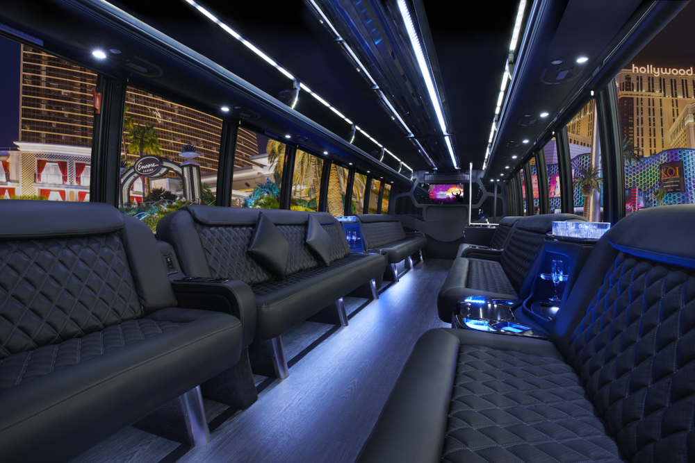Grech Motors GM40 Limo Bus Interior