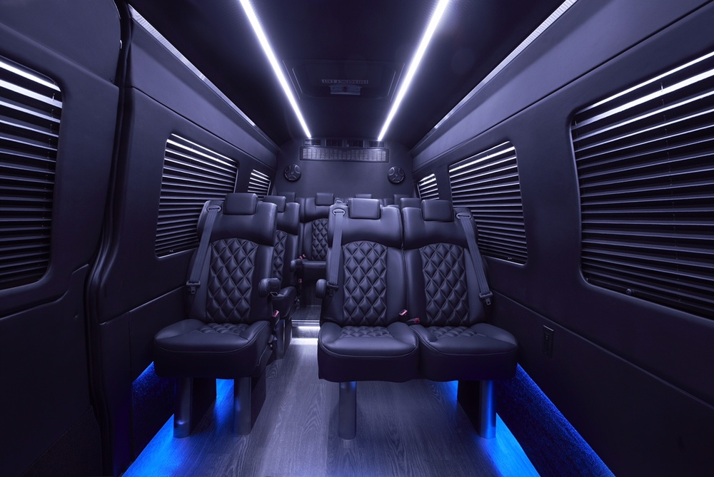 Grech Motors Sprinter luxury shuttle with Premier seats