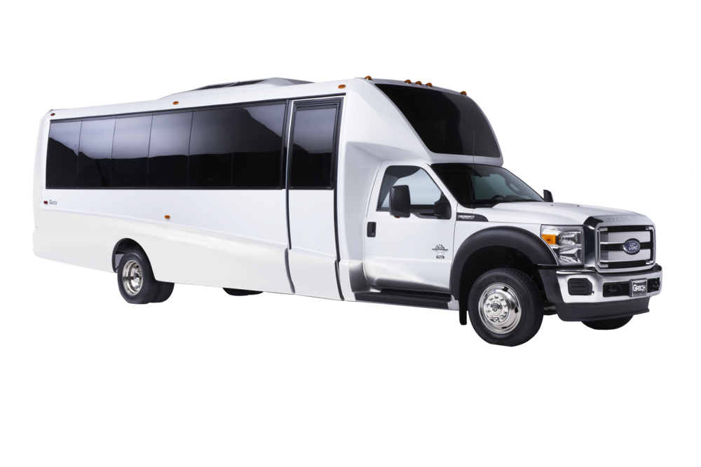 Grech Motors GM33 F550 luxury bus white