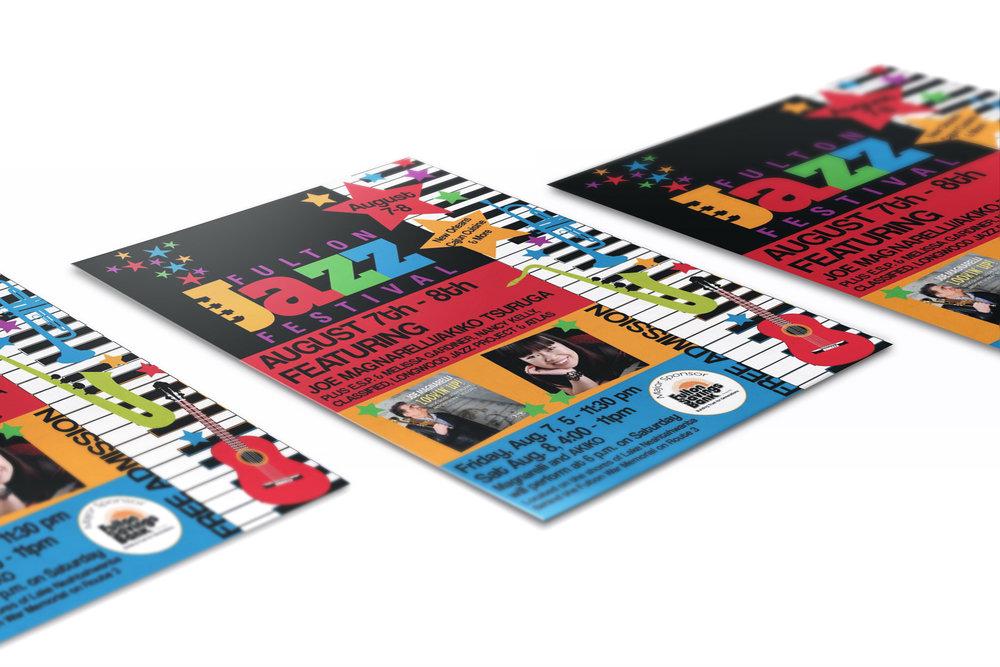 Jazz Fest Poster Design
