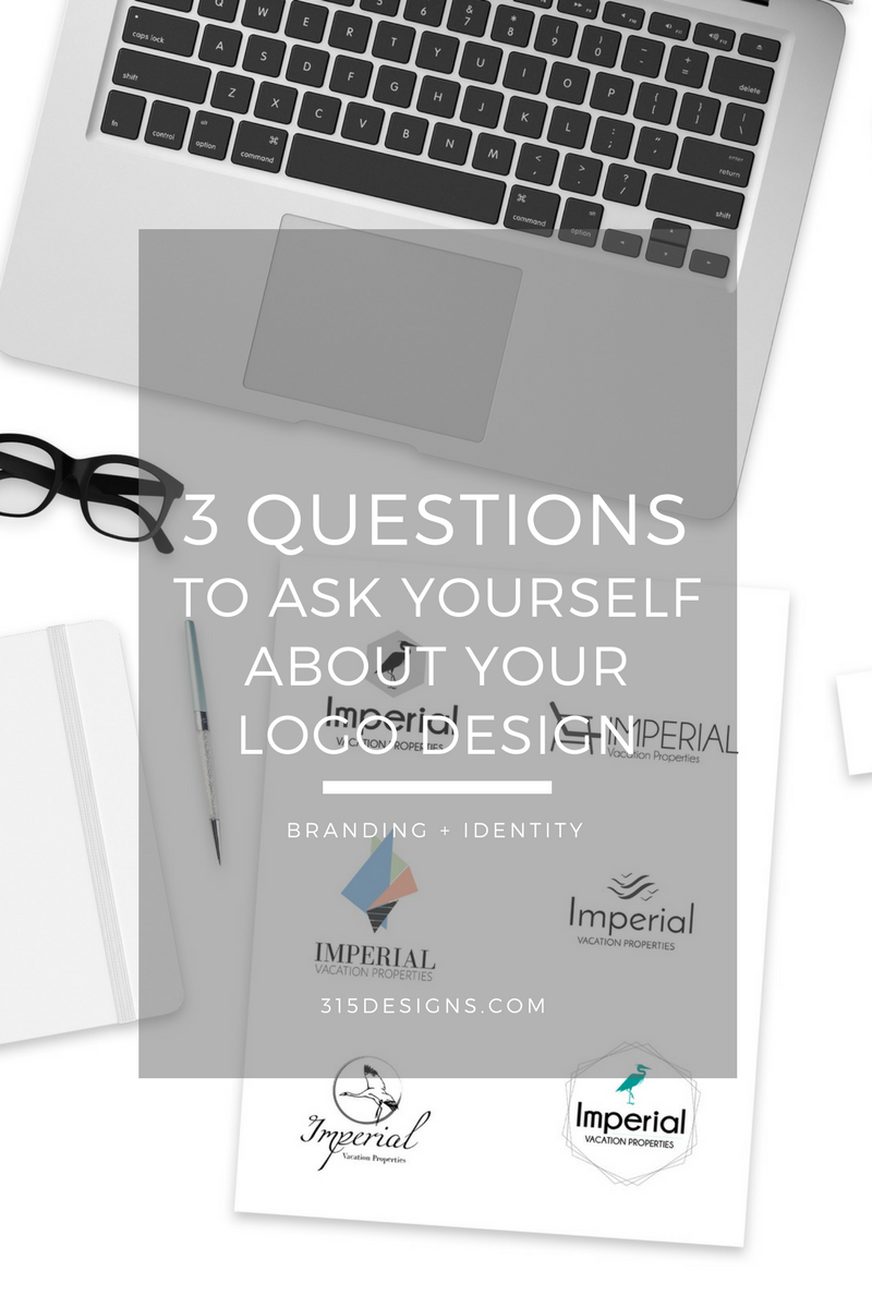 3 Questions to Ask About Your Logo Design