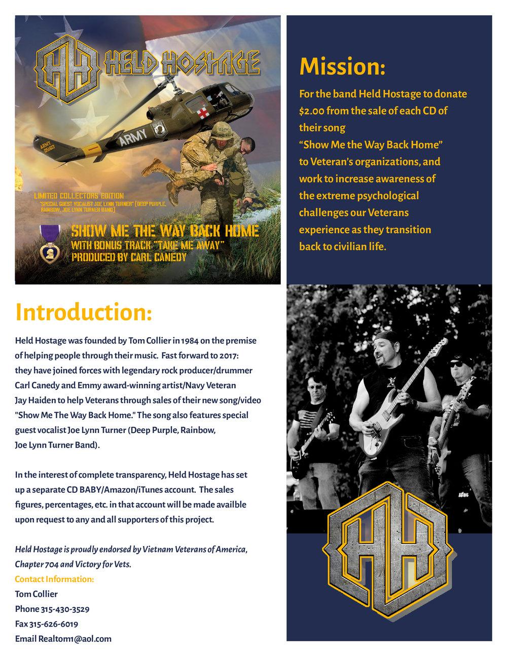 Held Hostage Media Kit