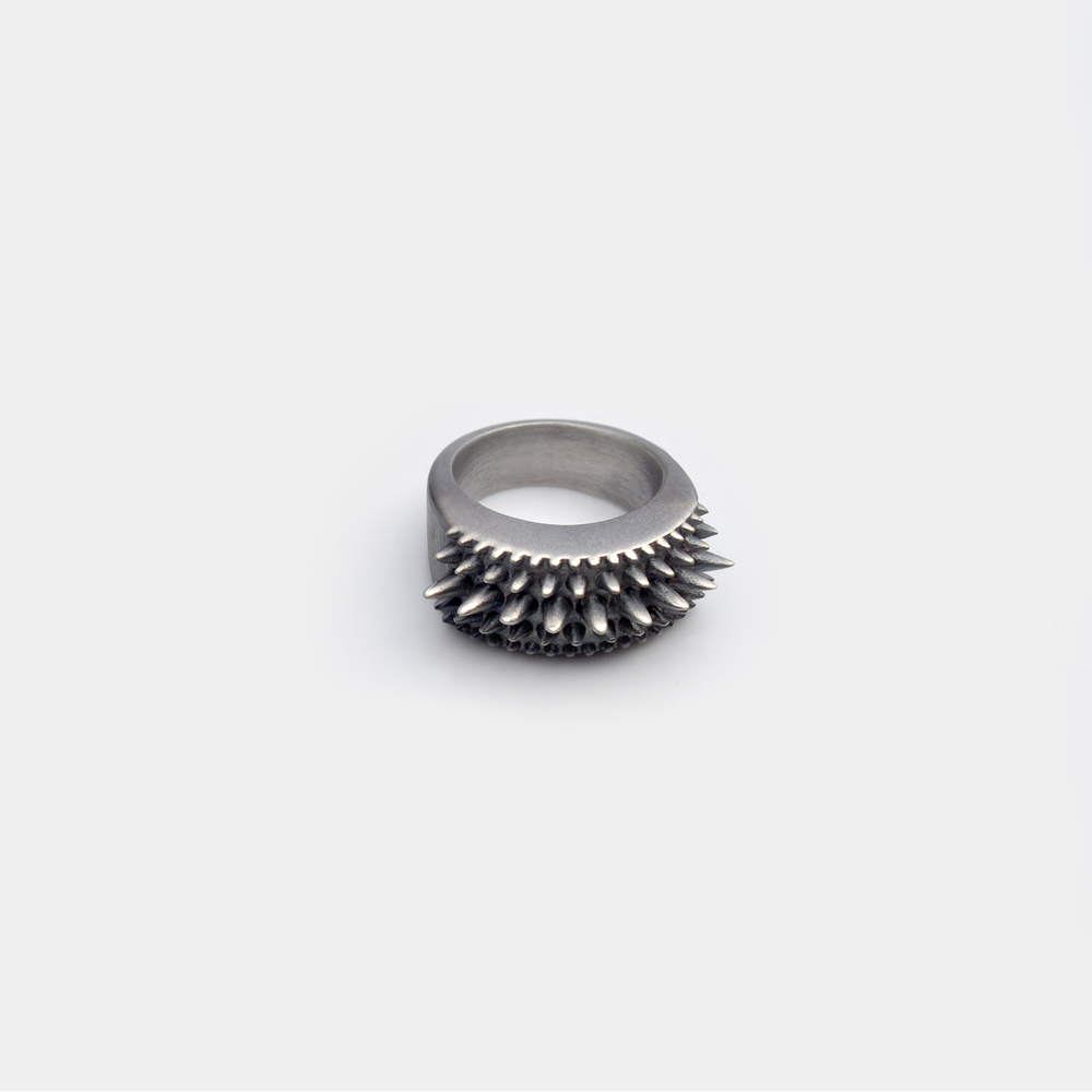 Marisa_Lomonaco_Hudson_Valley_custom_Jewelry_0004_Sterling_Silver_Black_Points_Ring.jpg