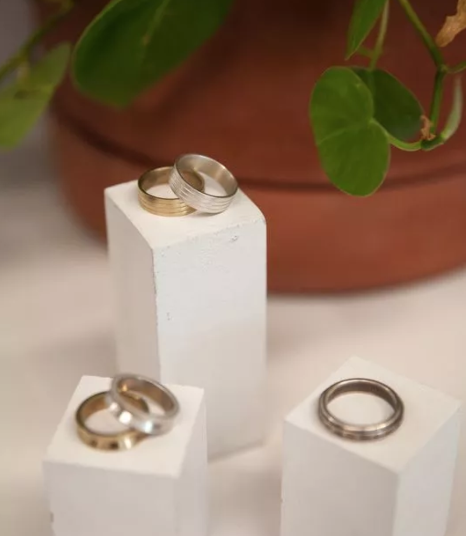 An alternative to traditional wedding and engagement rings in the Hudson Valley