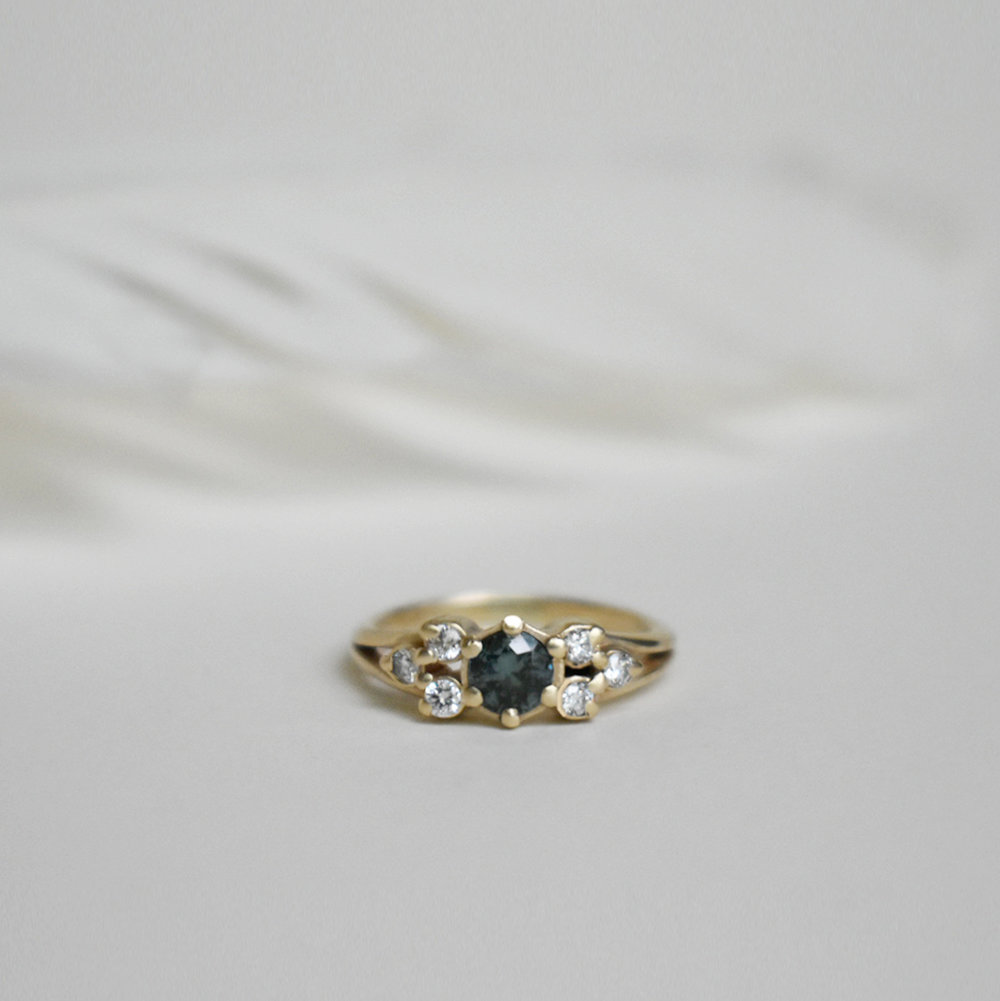 Custom Engagement Rings - Made in the Hudson Valley