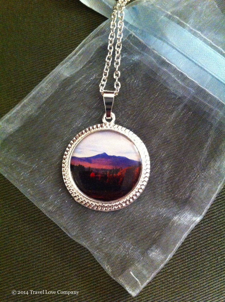 Last year's winning photo of the White Mountains in New Hampshire was made into this great necklace!