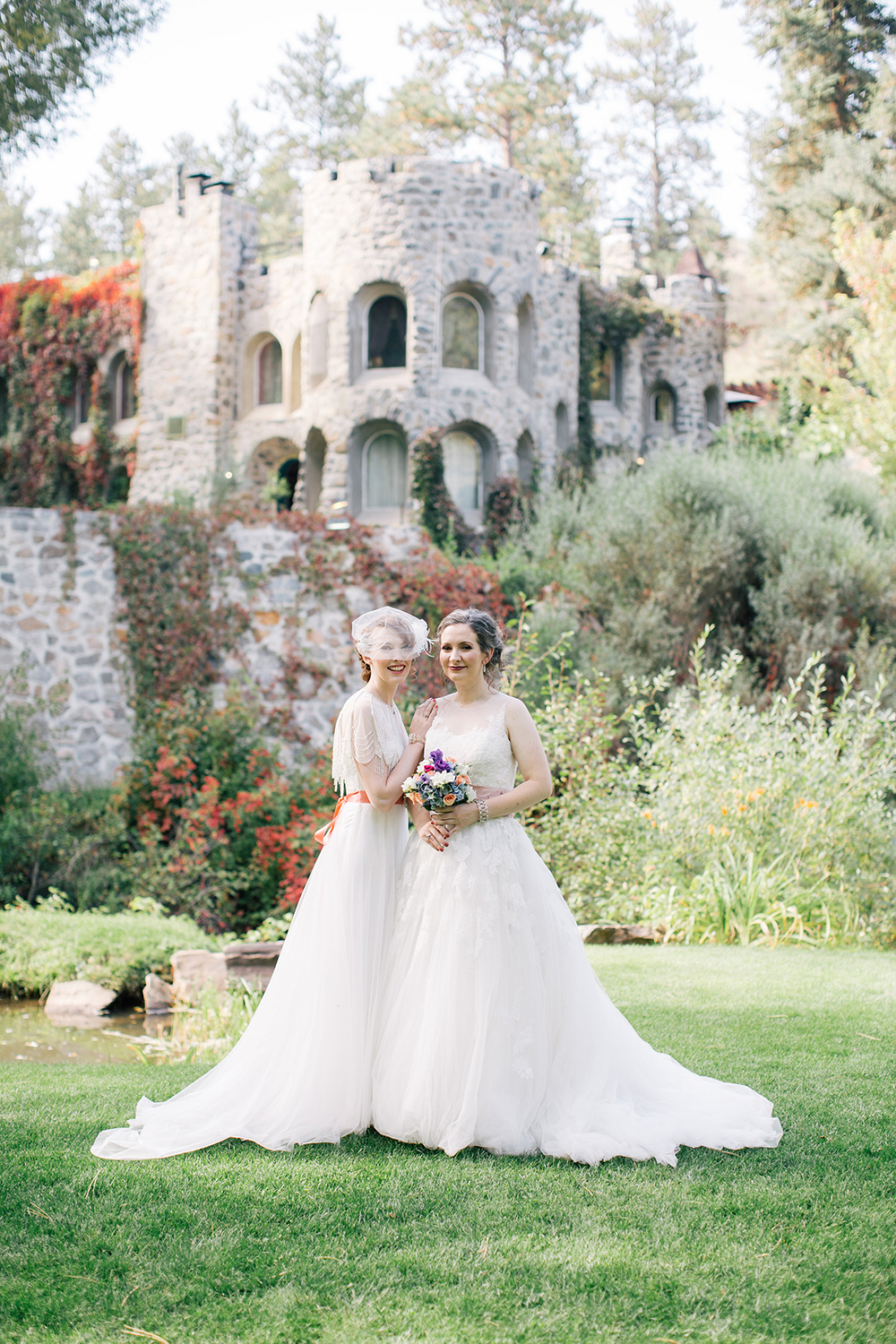 Colorado Mountain Dunafon Castle Same Sex LGBTQ Wedding Photographer_019.jpg