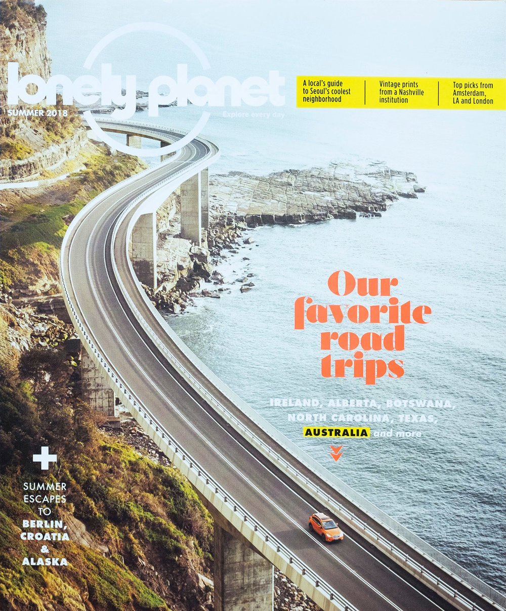 Lonely Planet Magazine US - Cover