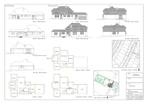 Planning application drawing.