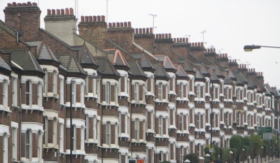 Terraced homes - London