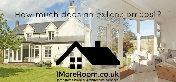 how much does an extension cost 1moreroom co uk architectural