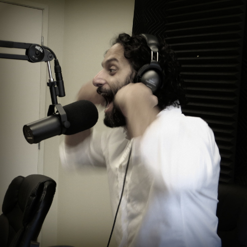 Jason Mantzoukas losing his mind over Fast & Furious 6 on How Did This Get Made?  Image Source:  Earwolf.com