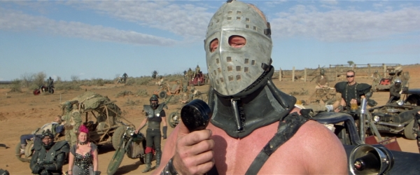 Like many in Miller's films, Lord Humungus simply can't understand why he's so prone to sunburn. youtube.com