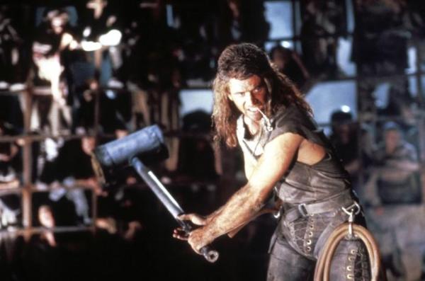 Mel Gibson today. sky.com