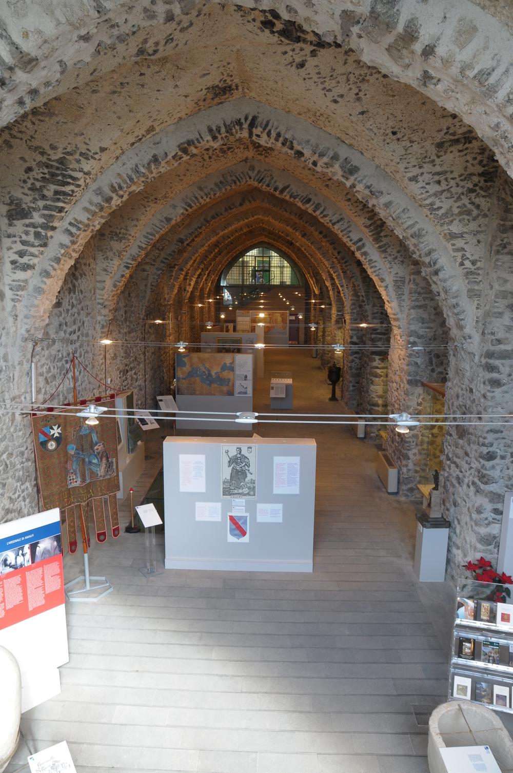 Uno dei due Arsenali dell'Antica Repubblica (Foto: Centro di Cultura e Storia Amalfitana).